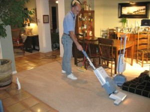 Carpet Cleaning and Traffic Lane Gray